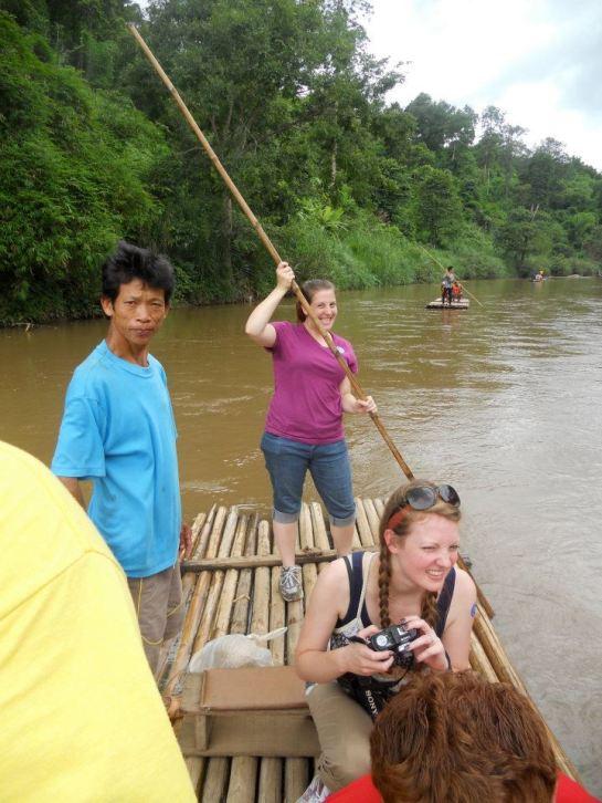 A trip down the river, Thailand