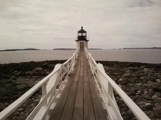 I visit Maine