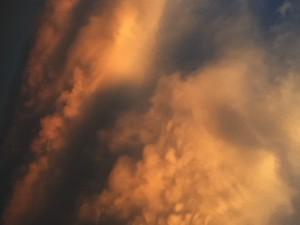 Storm Clouds by Melanie Lillie