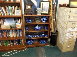 Great Aunt Maud's antique dishes