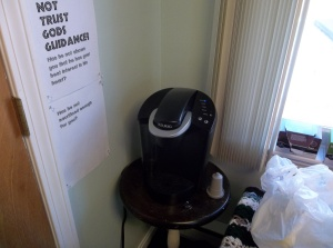 my personal office Keurig