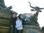 Melanie and me Running with the bulls Philadelphia PA