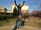 Victory Before the Battle (Statue of Rocky Balboa at Philly Art Museum)
