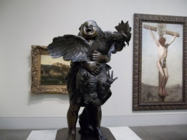 Child Choking a Chicken, Philadelphia Art Museum. I highly doubt you have one of these in your home!