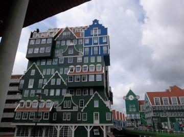 The Intel Hotel, Zandaam, The Netherlands. Unique among hotels.